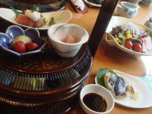 朝食@若竹の庄 別邸笹音