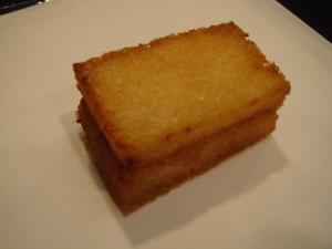 食パンと海老のすり身@天麩羅よこやま