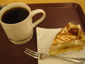 ケーキセット@Cafe Esperance