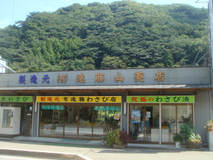 遠藤山葵店