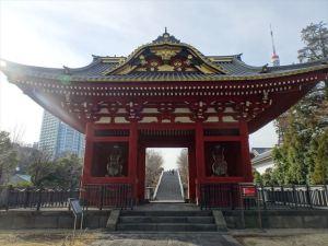 旧台徳院霊廟惣門1