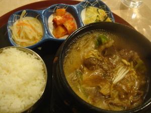プルコギ定食@韓国家庭料理コチュ